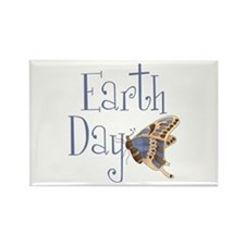 Earth Day Butterfly Rectangle Magnet (10 pack)