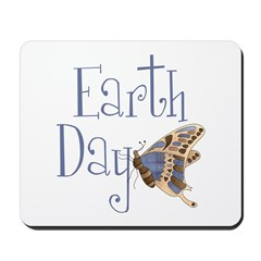 Earth Day Butterfly Mousepad