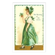 Wearing of the Green Postcards (Package of 8)