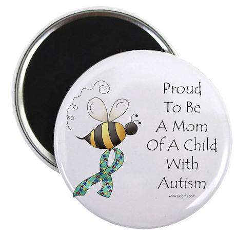 "Autism Mom 2.25"" Magnet (100 pack)"
