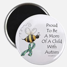 "Autism Mom 2.25"" Magnet (100 pack)"