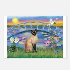Sunrise Lilies / Siamese Postcards (Package of 8)