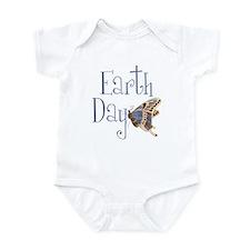 Earth Day Butterfly Infant Bodysuit
