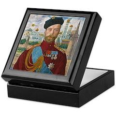 Tsar Nicholas II Keepsake Box