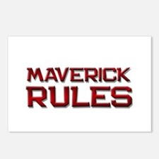 maverick rules Postcards (Package of 8)