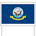 U.S. Navy Flag Yard Sign