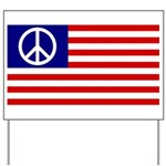 Peace Flag (American version) Yard Sign
