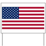 Flag of the United States Yard Sign