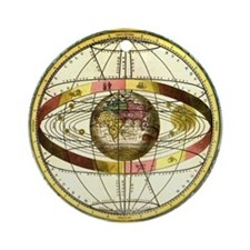 Ptolemy's Universe Ornament (Round)