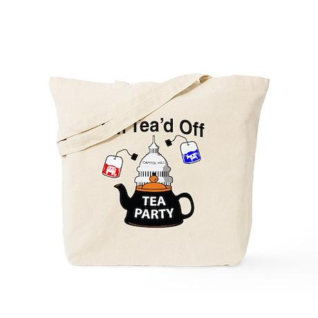 I'm Tea'd Off Tote Bag