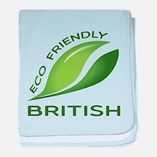 Eco Friendly British baby blanket