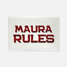 maura rules Rectangle Magnet