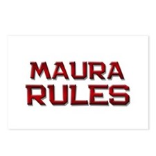 maura rules Postcards (Package of 8)