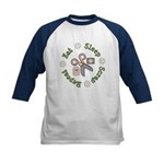 Eat Sleep Scrap Repeat Kids Baseball Jersey