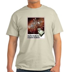 ID Cosmic Accident? Ash Grey T-Shirt