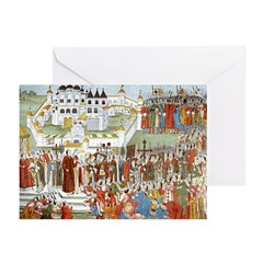 Hypatian Monastery (1673) Greeting Cards (Pk of 20
