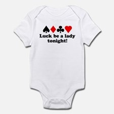 Luck be a lady! Infant Bodysuit