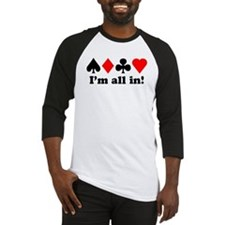 I'm all in! Baseball Jersey