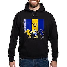Barbados Soccer Hoodie
