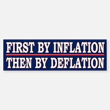 Funny Political Bankers Quote Bumper Bumper Bumper Sticker