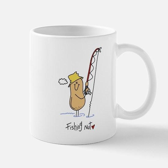 Fishing Nut Mug