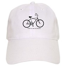 Funny Road bike Baseball Cap