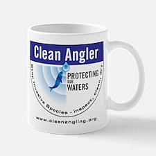 Clean Angler Logo web2 Mugs