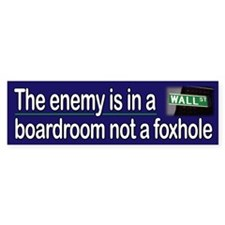 Enemy Within Bumper Bumper Sticker