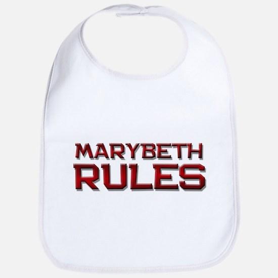 marybeth rules Bib
