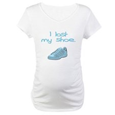 I lost my shoe. Shirt