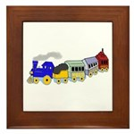 Choo Choo Train Framed Tile
