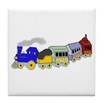 Choo Choo Train Tile Coaster