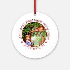AMY PATH WILL DO Ornament (Round)