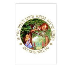 ANY PATH WILL DO Postcards (Package of 8)