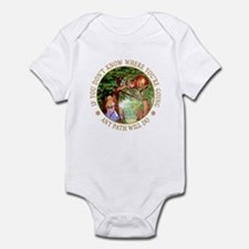 ANY PATH WILL DO Infant Bodysuit