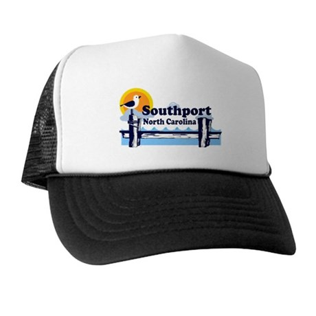 Southport NC Trucker Hat