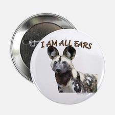 """Unique Wild dogs 2.25"""" Button"""