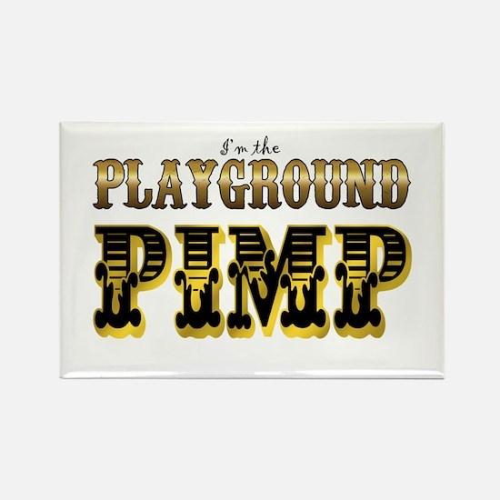 Playground Pimp Rectangle Magnet