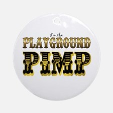 Playground Pimp Ornament (Round)