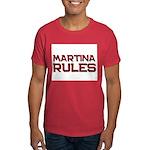 martina rules Dark T-Shirt