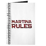 martina rules Journal