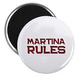 martina rules Magnet
