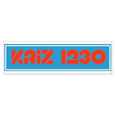 KRIZ Phoenix 1975 - Bumper Bumper Sticker