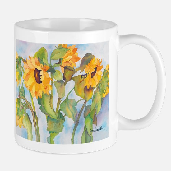 Sunny Sunflowers 2 Mug