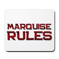 marquise rules Mousepad