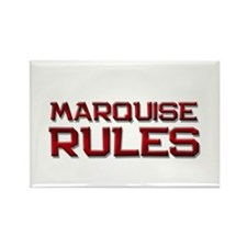 marquise rules Rectangle Magnet