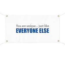 You Are Unique Banner