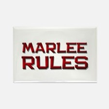 marlee rules Rectangle Magnet