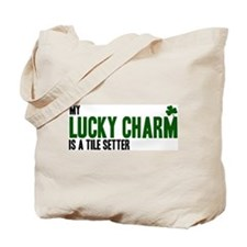 Tile Setter lucky charm Tote Bag