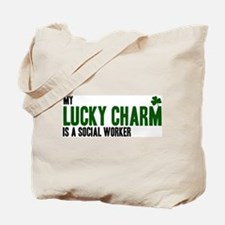 Social Worker lucky charm Tote Bag